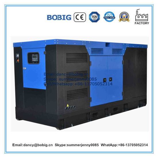 120kw Soundproof Electric Diesel Generator with Deutz