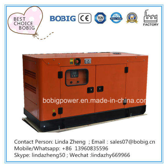 100kw 125kVA Silent Open Diesel Generator with Cummins Engine 6BTA5.9-G2