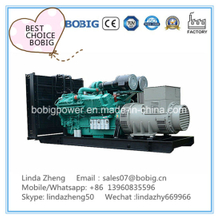 30kw 50kw Biogas Methane Gas Generator Without Canopy Open Type
