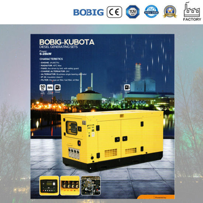 Standby 11kVA-42kVA Power Generator with Kubota Engine
