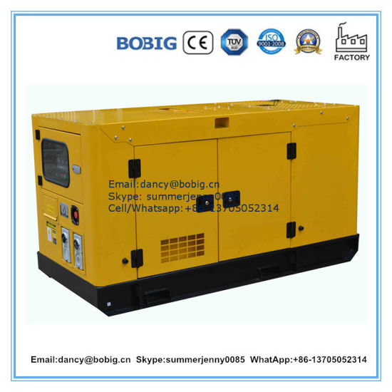 15kVA Low Price Diesel Generator by Lijia Two Cylinders Engine