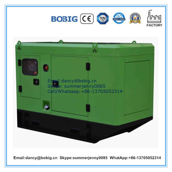 80kw Silent Diesel Generator Powered by Deutz Engine