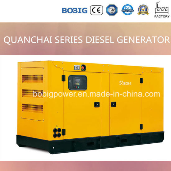 8-30kVA Silent Diesel Generator Powered by Quanchai Engine