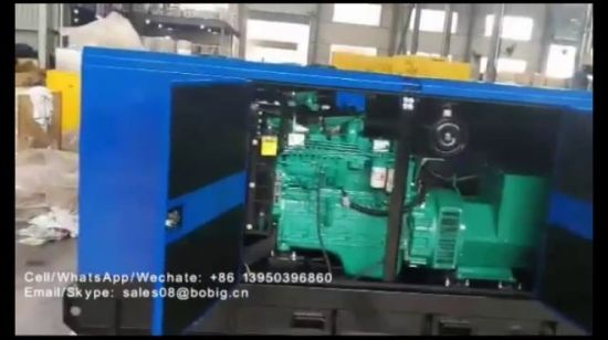 Gensets Factory 10kVA to 300kVA Power Diesel Generators for Sales