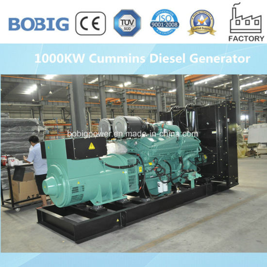 Hight Quality 500kw Industrial Diesel Generator Powered by Cummins