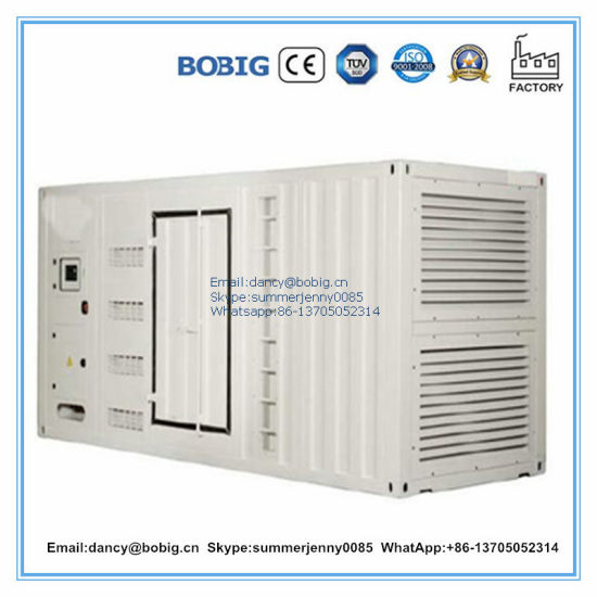 Cummins 800kVA Generator with Container Type for Power Solution